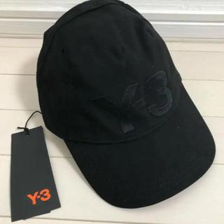 ワイスリー(Y-3)の新品タグ付き Y-3 UNCOSTR CAP キャップ(キャップ)