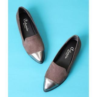 ダイアナ(DIANA)の新品ポインテッドスリッポンローファー(ローファー/革靴)