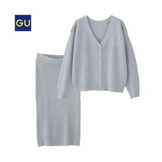 ジーユー(GU)の【GU】マルチウェイセットアップ(スカート)(ひざ丈スカート)