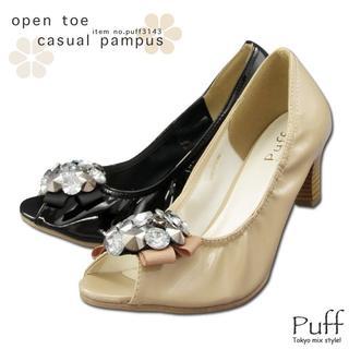 オープントゥパンプス 3143 (ブーツ)