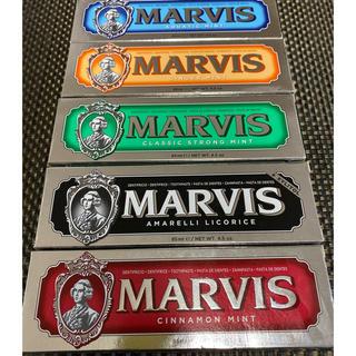 マービス(MARVIS)のMARVIS ホワイトニングミント以外 歯磨き粉 85ml×5本セット(歯磨き粉)