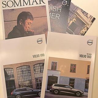 ボルボ(Volvo)のVOLVO MAGAZINE 「SOMMAR」、カタログ2冊(カタログ/マニュアル)