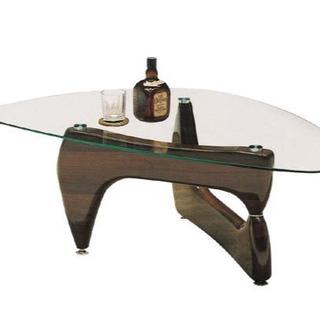 新品 120cmガラステーブル 2色対応(ローテーブル)