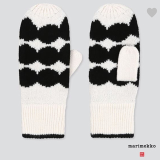 マリメッコ(marimekko)のマリメッコ ユニクロ 手袋(手袋)