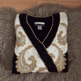 ロキエ(Lochie)のフラミンゴ vintage knit(ニット/セーター)