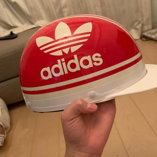 アディダス(adidas)の半キャップ(ヘルメット/シールド)