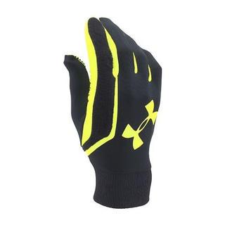 アンダーアーマー(UNDER ARMOUR)の残少 アンダーアーマー LG ブラック イエロー グローブ 手袋 防寒 メンズ(手袋)