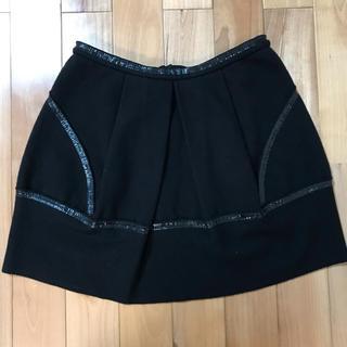 プラダ(PRADA)のプラダ ミニスカート ☆ サイズ 42 ☆ 黒(ミニスカート)