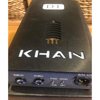 希少中古 Khan Audio VTDI カーン チューブダイレクトボックス(その他)