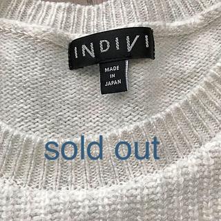 インディヴィ(INDIVI)のINDIVIのカシミヤ混プルオーバー イエナ トゥモローランド(ニット/セーター)