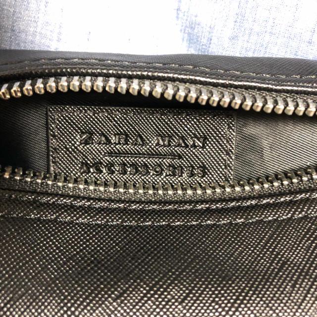 ZARA(ザラ)の値下げ【ほぼ新品】ZARA ボディバッグ【携帯電話用】 メンズのバッグ(ボディーバッグ)の商品写真