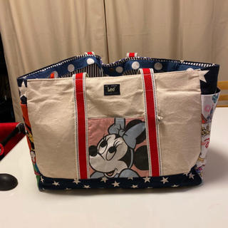 ディズニー(Disney)の【値下げ】トートバッグ マザーズバッグ ハンドメイド ディズニー ビンテージ(マザーズバッグ)