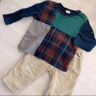プティマイン(petit main)のプティマイン  トップス  ギャップ ズボン Tシャツ パンツ(Tシャツ/カットソー)