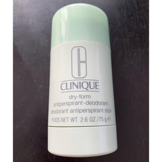 クリニーク(CLINIQUE)の新品!クリニーク ドライフォーム デオドラント (制汗/デオドラント剤)