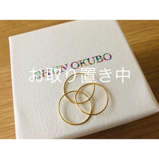 露伴様お取り置き SHUN OKUBO K18 3連リング 7号(リング(指輪))