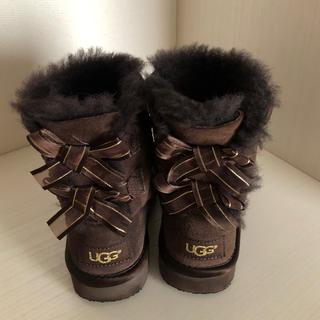 アグ(UGG)のUGGブーツ リボン 15センチ(ブーツ)