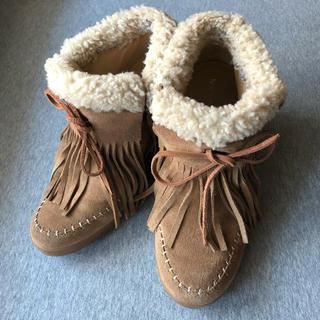 クーラブラ(Koolaburra)のKoolaburraインヒールブーツ US7(24cm)(ブーツ)
