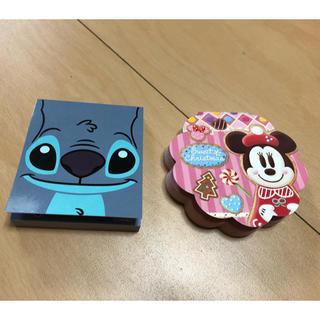 ディズニー(Disney)のディズニー メモ帳セット スティッチ&ミニーマウス(ノート/メモ帳/ふせん)