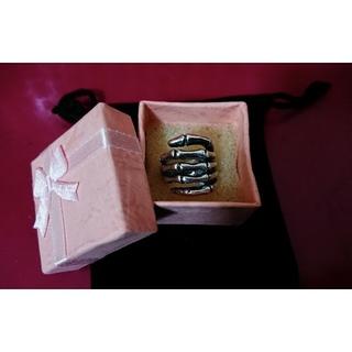 ところてん様専用◆ スカル スカルボーン シルバー リング ネクロマンス(リング(指輪))