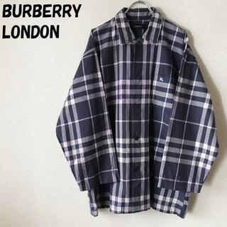 バーバリー(BURBERRY)の【人気】バーバリーロンドン チェックシャツ パジャマ上 サイズL(その他)