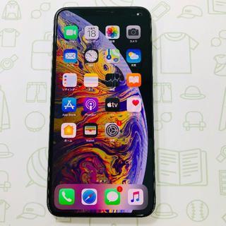 アイフォーン(iPhone)の【A】iPhoneXSMax/256/SIMフリー(スマートフォン本体)