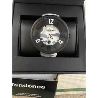 テンデンス(Tendence)のテンデンス腕時計迷彩Tendence美品(腕時計(アナログ))