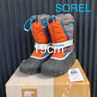 ソレル(SOREL)のSOREL/スノーブーツ/19cm/USED/送料込価格になりました😊(ブーツ)