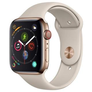 アップルウォッチ(Apple Watch)のApple Watch SERIES4 Gold Stainless Case(腕時計(デジタル))