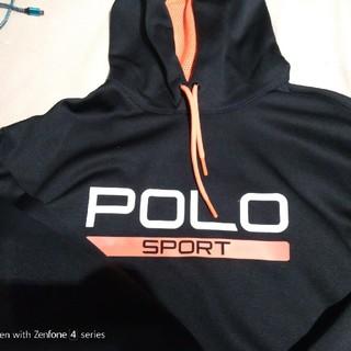 POLO SPORTS PARKA XL ポロスポーツ パーカー DKNY(パーカー)