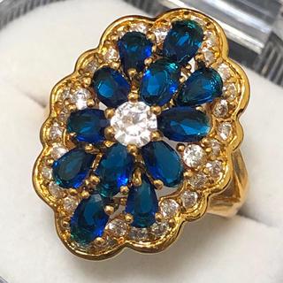 装飾リング✨セレブ感たっぷり!ゴールドリング 指輪(リング(指輪))