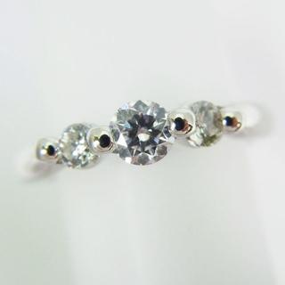 Pt900 ダイヤモンド ピンキー リング 2号 [g120-8] (リング(指輪))