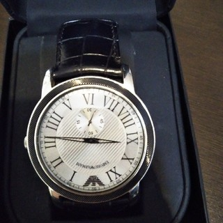エンポリオアルマーニ(Emporio Armani)のEMPORIO ARMANI 腕時計(レザーベルト)