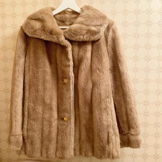 エディットフォールル(EDIT.FOR LULU)のfrance vintage フェイクファーコート(毛皮/ファーコート)