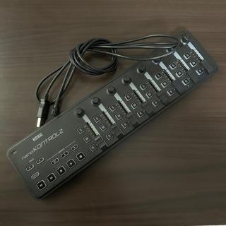 コルグ(KORG)のKORG nano Kontrol2(MIDIコントローラー)