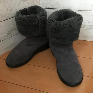 アルコペディコ(ARCOPEDICO)のアルコペディコ ムートンブーツ 24.5cm(ブーツ)
