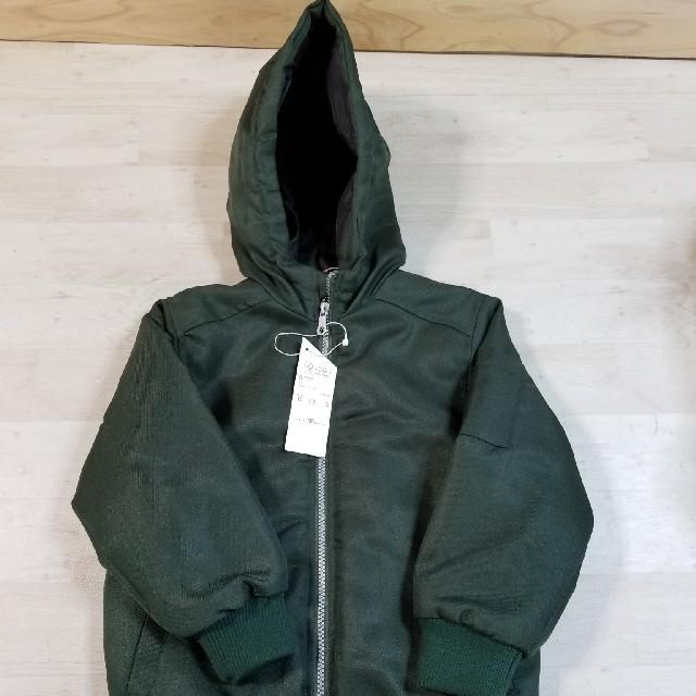 ikka(イッカ)のikka イッカ キッズ ブルゾン アウター サイズ120 キッズ/ベビー/マタニティのキッズ服男の子用(90cm~)(ジャケット/上着)の商品写真