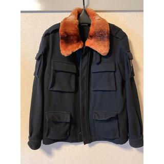 ドリスヴァンノッテン(DRIES VAN NOTEN)のdries van noten fur jacket(フライトジャケット)