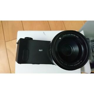 シグマ(SIGMA)のSigma dp3 quattro(コンパクトデジタルカメラ)