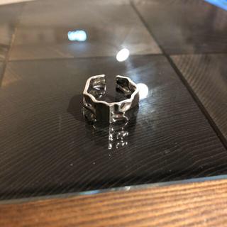 ハイク(HYKE)のシルバー925 ワイドボリュームリング(リング(指輪))