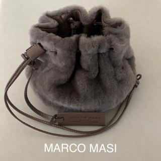 ドゥーズィエムクラス(DEUXIEME CLASSE)のMARCO MASI マルコマージ ムートン巾着バッグ(ショルダーバッグ)