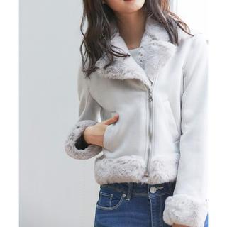 トッコ(tocco)の零さま☆トッコクローゼット  ムートン×ファーライダースジャケット(ライダースジャケット)