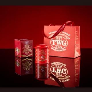 【期間限定】TWG クリスマスバージョン 紅茶 ミニ缶(茶)