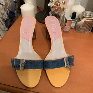 ディオール(Dior)のDior  vintage サンダル(サンダル)