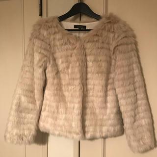 リエンダ(rienda)のrienda  フェイクファージャケット美品(毛皮/ファーコート)