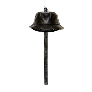 ピースマイナスワン(PEACEMINUSONE)のPEACEMINUSONE PMO LEATHER BUCKET HAT(ハット)