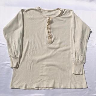 ヘインズ(Hanes)の40's アンダーウェア ヴィンテージ  ビンテージ 40年代(Tシャツ/カットソー(七分/長袖))