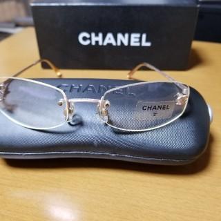 シャネル(CHANEL)のCHANELメガネ(サングラス/メガネ)