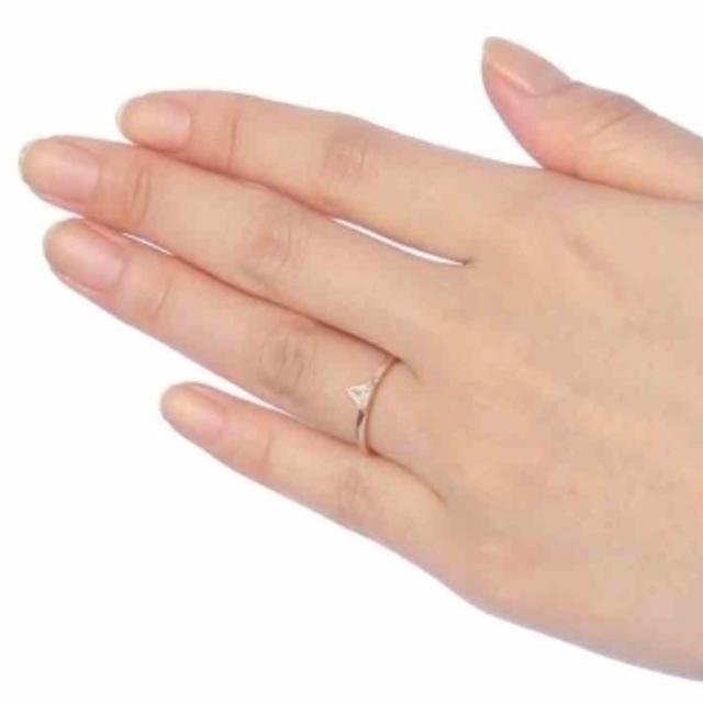 COCOSHNIK(ココシュニック)のココシュニック トライアングルカット ダイアモンド レディースのアクセサリー(リング(指輪))の商品写真