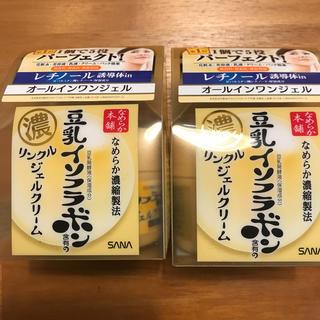 ノエビア(noevir)の豆乳イソフラボン リンクルジェルクリーム(オールインワン化粧品)