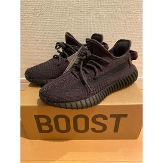 アディダス(adidas)のyeezy boost 350 black 23.5cm 希少サイズ(スニーカー)
